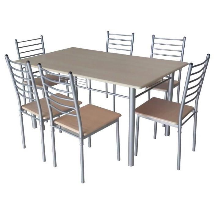 Table Et 6 Chaises Salle à Manger