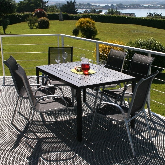 Table Et Chaise De Jardin Alu