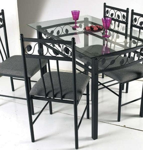 Table Et Chaise En Fer Forgé Conforama