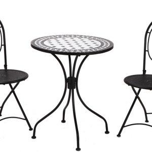 Table Et Chaise En Fer Forge De Jardin