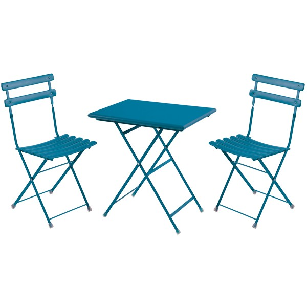 Table Et Chaises Balcon Métal