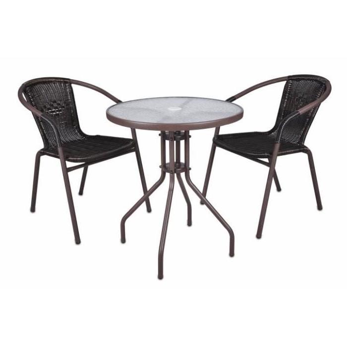 Table Et Chaises Bistro Métal