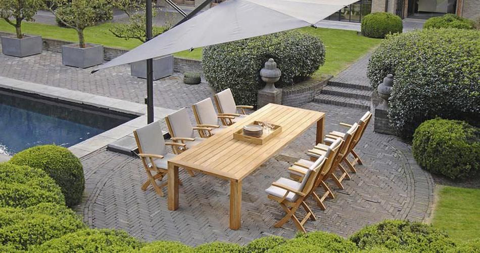 Table Et Chaises En Teck Pour Jardin