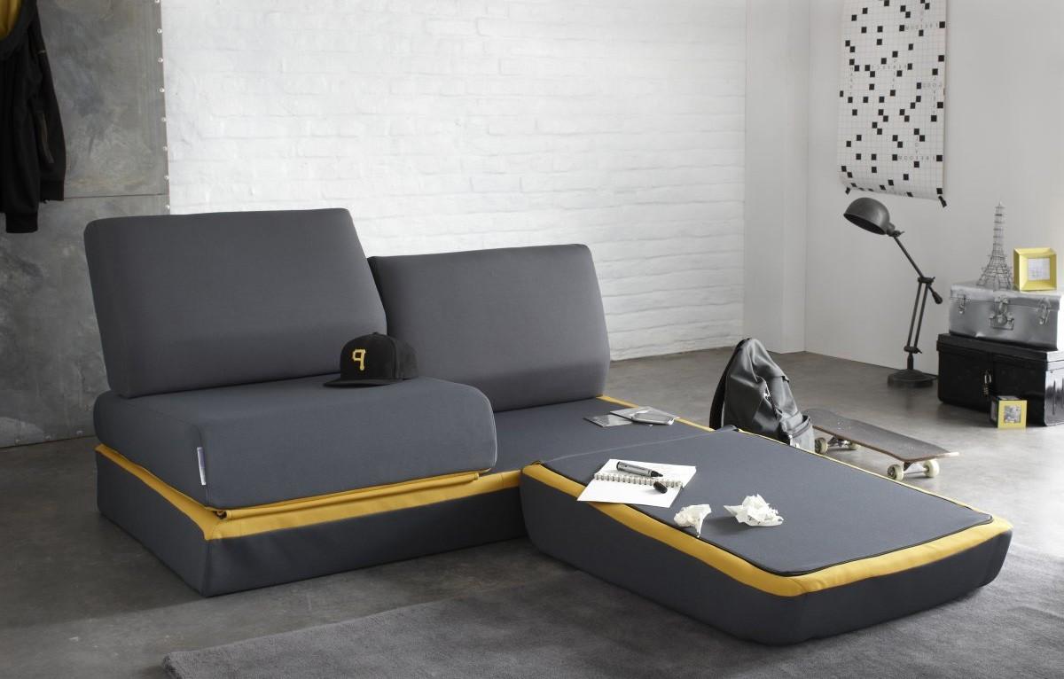 Canapé D'angle Convertible Petite Surface