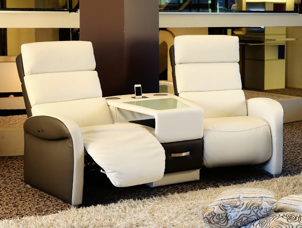 Canap home cinema relax canap id es de d coration de for Canape home cinema