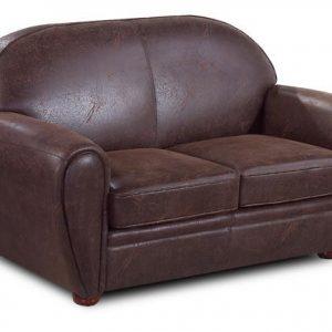 Canap convertible en cuir vieilli canap id es de for Canape club cuir convertible