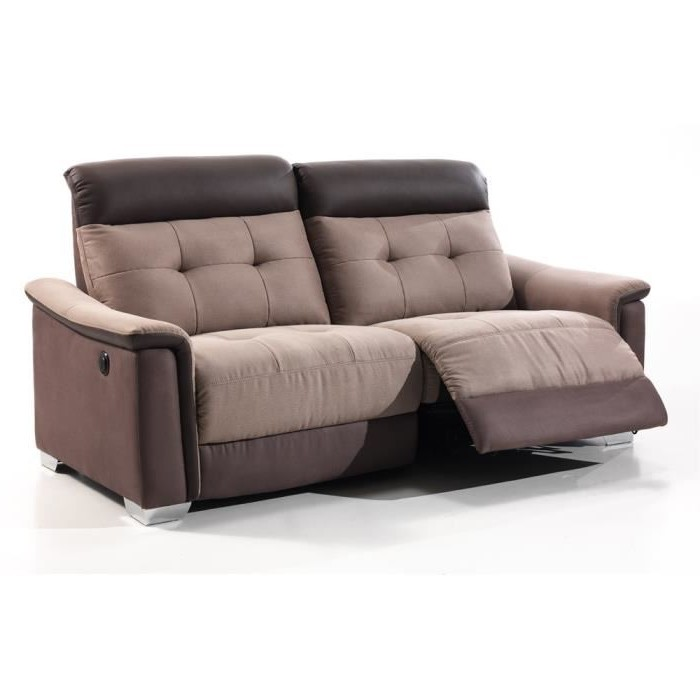 Canape Relaxation Electrique Tissu