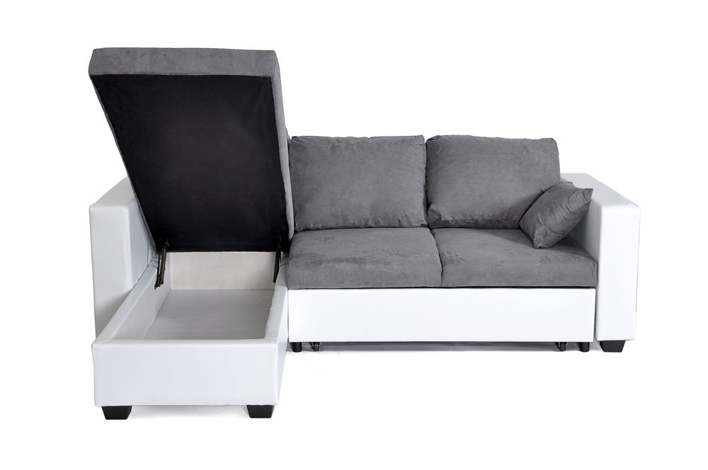 Petit Canapé D'angle Convertible 200 Cm
