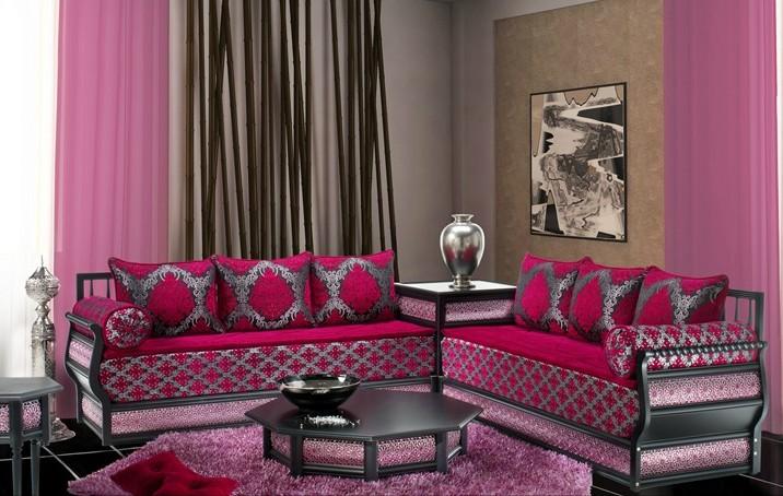 Salon Marocain Moderne 2015