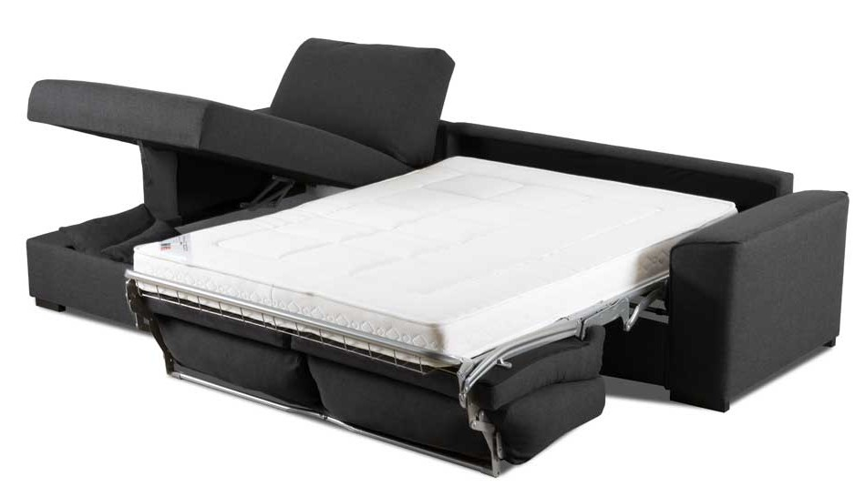 canape lit vrai matelas maison design. Black Bedroom Furniture Sets. Home Design Ideas