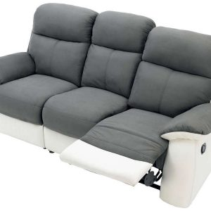 Canap cuir convertible 2 places conforama canap id es de d coration de - Canape relax electrique conforama ...
