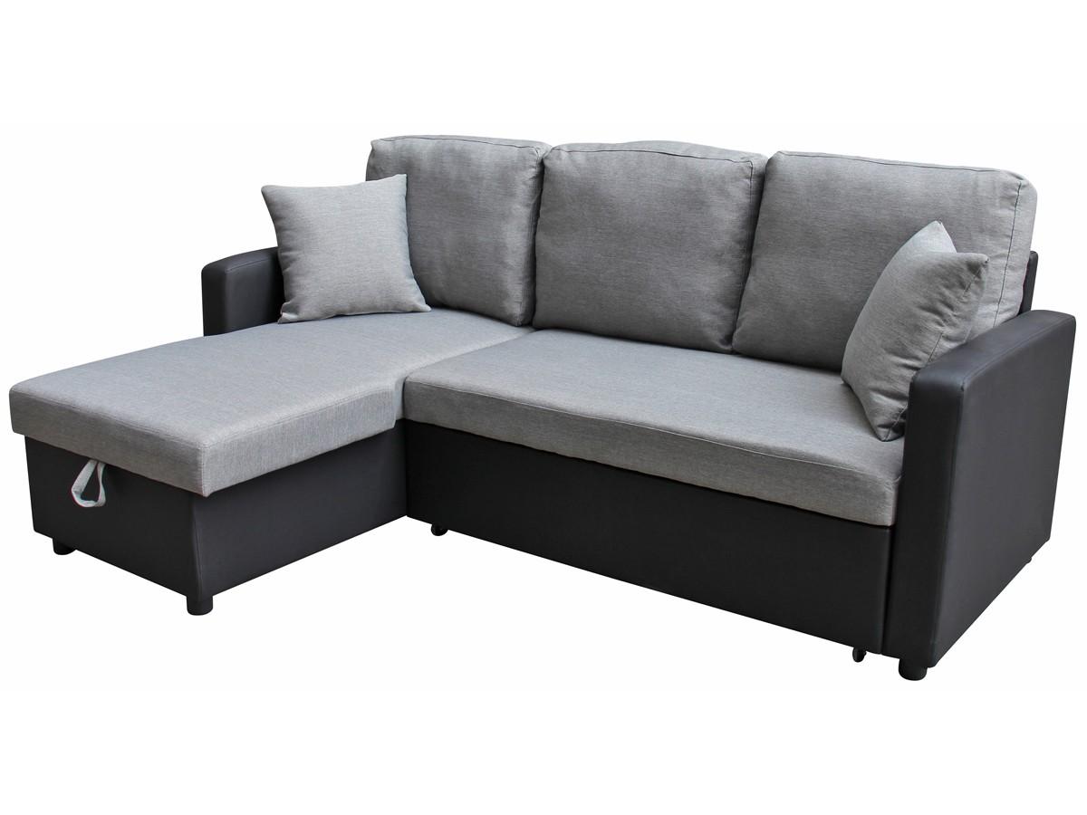 Canapé D Angle Convertible Avec Vrai Matelas