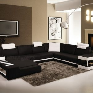 canape sur mesure en cuir canap id es de d coration de maison eybj7yrno7. Black Bedroom Furniture Sets. Home Design Ideas