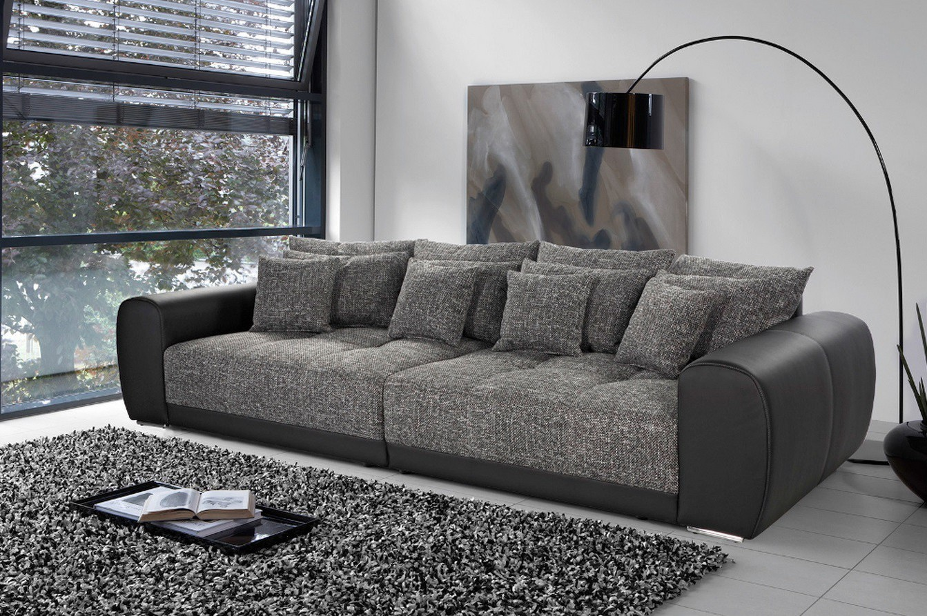 Canap gris anthracite design canap id es de for Canape gris anthracite