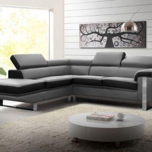 solde canap cuir canap id es de d coration de maison. Black Bedroom Furniture Sets. Home Design Ideas