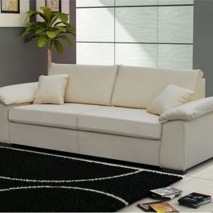 Ikea canape convertible 2 places blanc canap id es de for Canape cuir blanc ikea