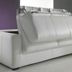 Canape d 39 angle convertible avec vrai matelas canap for Canape lit vrai matelas