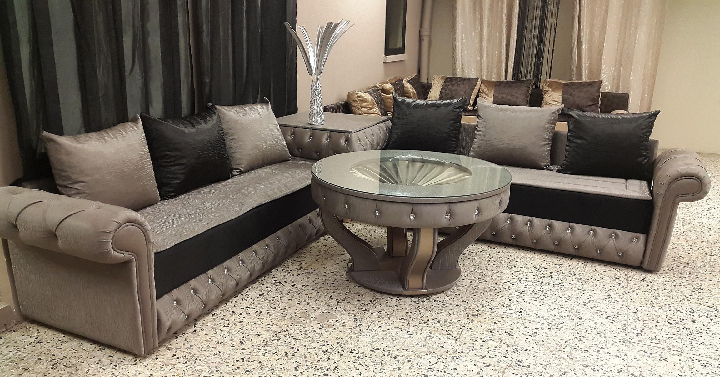 Canape Marocain Design Cuir