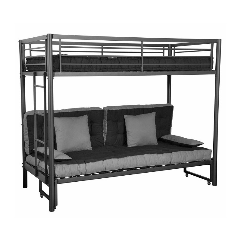 lit mezzanine avec canape ikea canap id es de. Black Bedroom Furniture Sets. Home Design Ideas