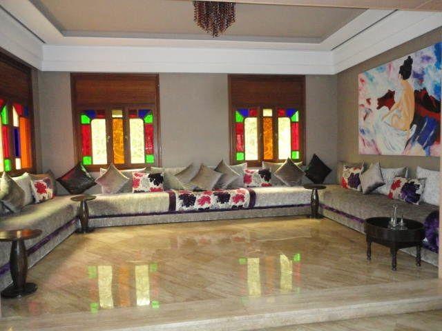 Salon Marocain Design 2015