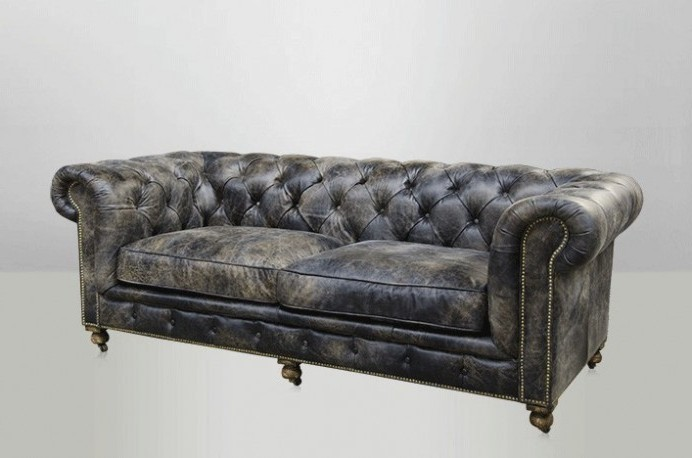 canape chesterfield noir vintage canap id es de. Black Bedroom Furniture Sets. Home Design Ideas