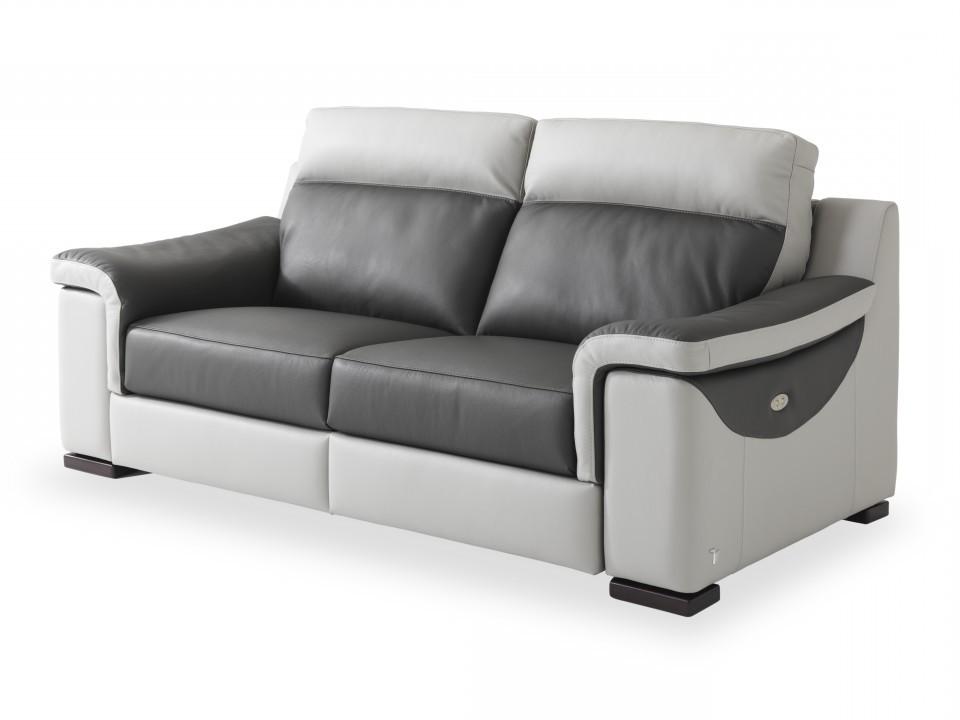 Canape Relax Electrique 3 Places Microfibre
