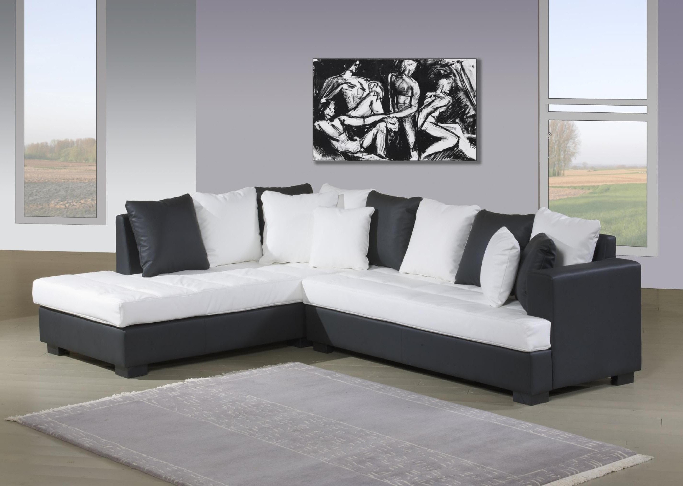 canape angle cuir buffle but canap id es de. Black Bedroom Furniture Sets. Home Design Ideas