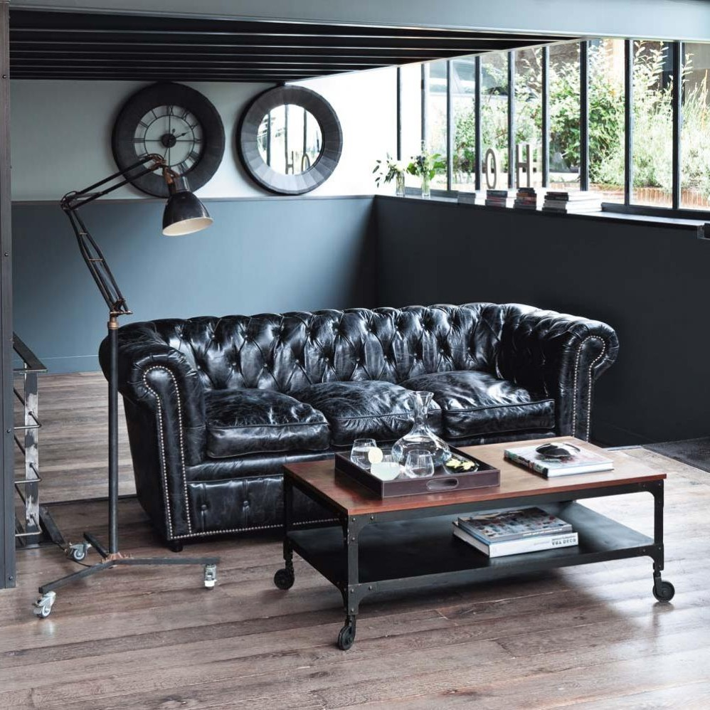 canape chesterfield vintage a vendre canap id es de. Black Bedroom Furniture Sets. Home Design Ideas