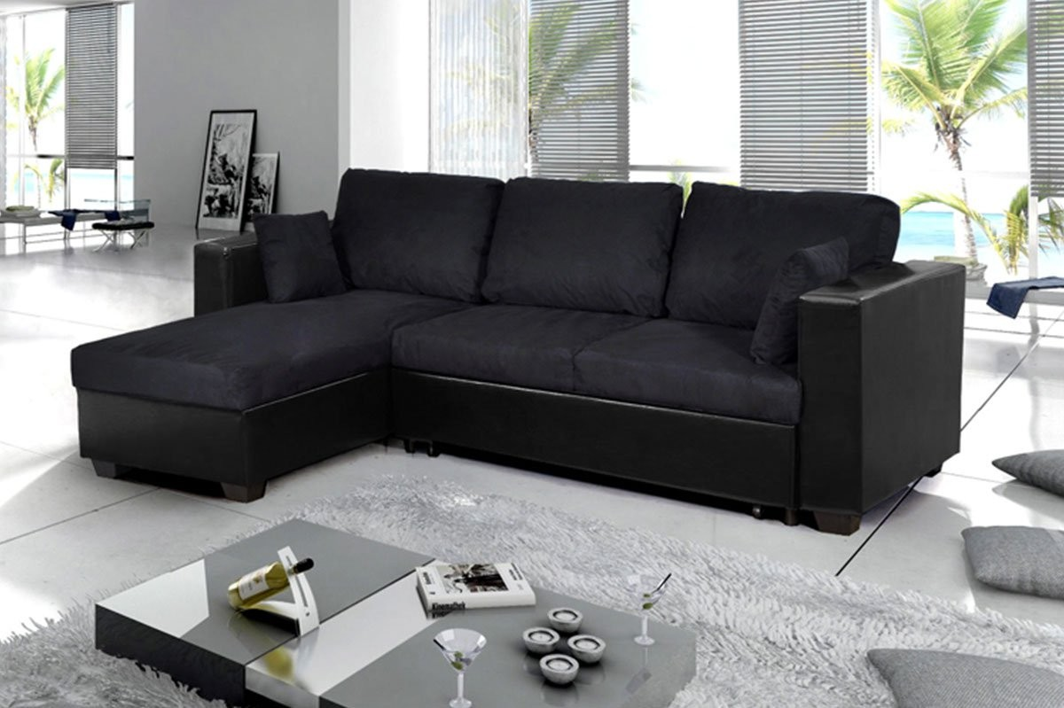 Canape cuir conforama angle canap id es de d coration for Decoration maison conforama