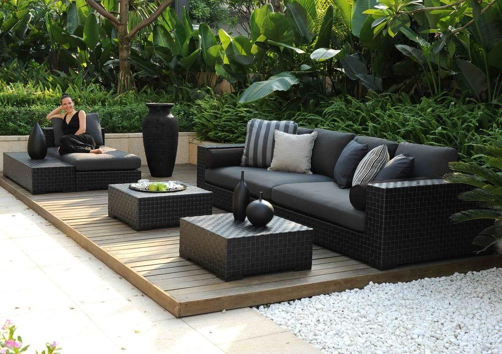 canape exterieur resine tressee canap id es de d coration de maison q8nkl5jloy. Black Bedroom Furniture Sets. Home Design Ideas