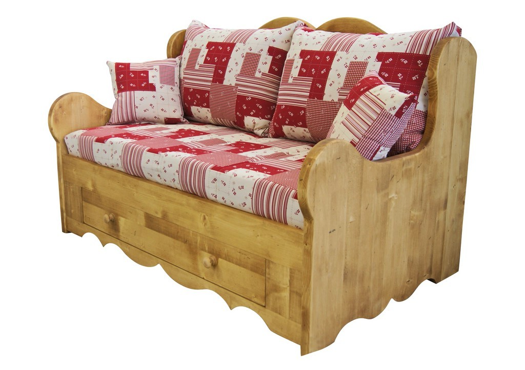 Canape lit convertible montagne canap id es de for Decoration de canape