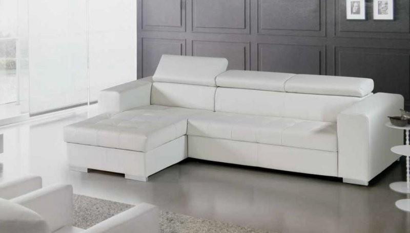 fly canape cuir blanc canap id es de d coration de. Black Bedroom Furniture Sets. Home Design Ideas