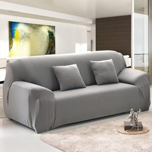 housse de canapé gris clair Housse De Canape Gris   Canapé : Idées de Décoration de Maison  housse de canapé gris clair