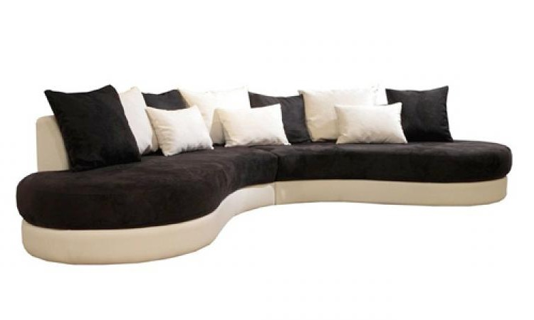 canape arrondi conforama ausziehbares 3 sitzer sofa aus. Black Bedroom Furniture Sets. Home Design Ideas