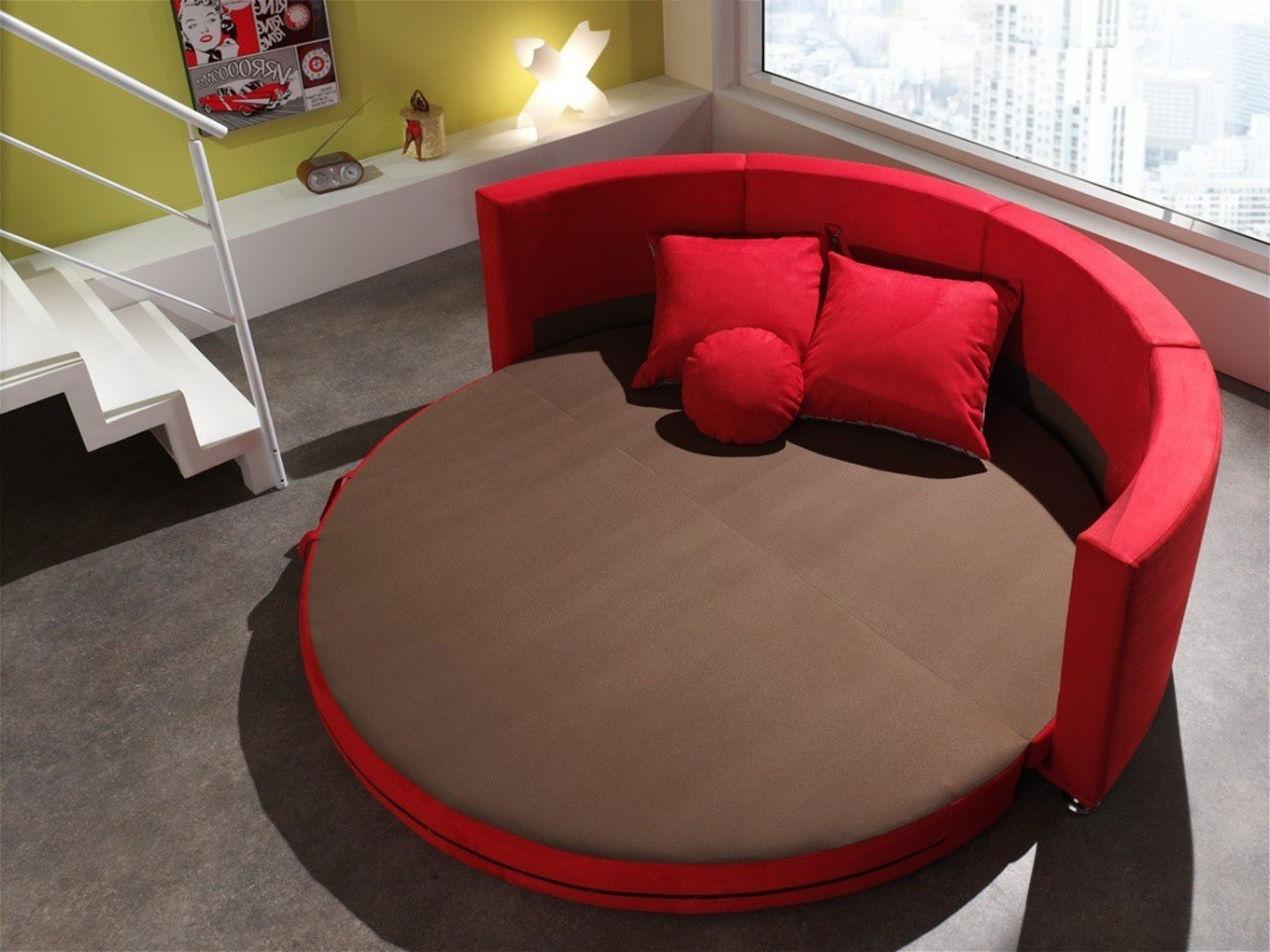 Canape Convertible Rond Cocoon
