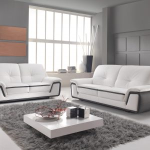 Stunning Canape Cuir Blanc Design Italien With Canap D Angle Cuir Blanc  Design