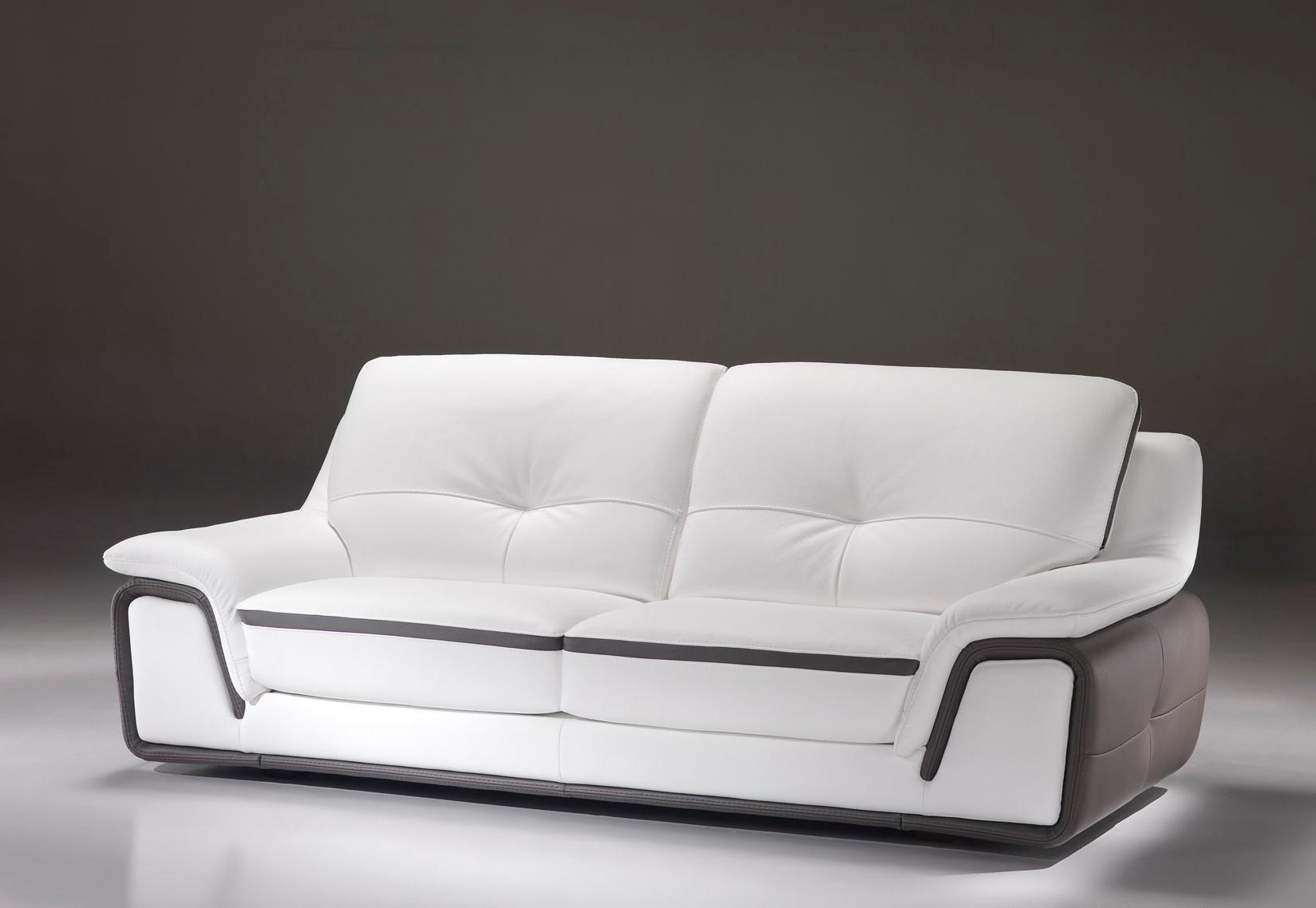 Canape Cuir Italien Design
