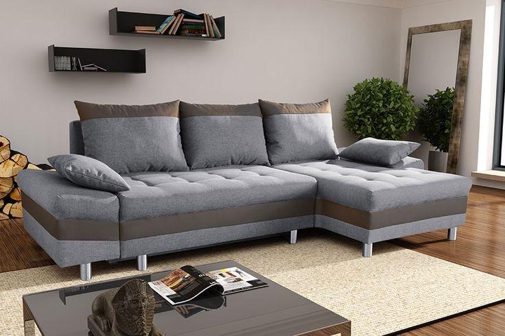 Canapé D'angle Convertible Avec Coffre De Rangement