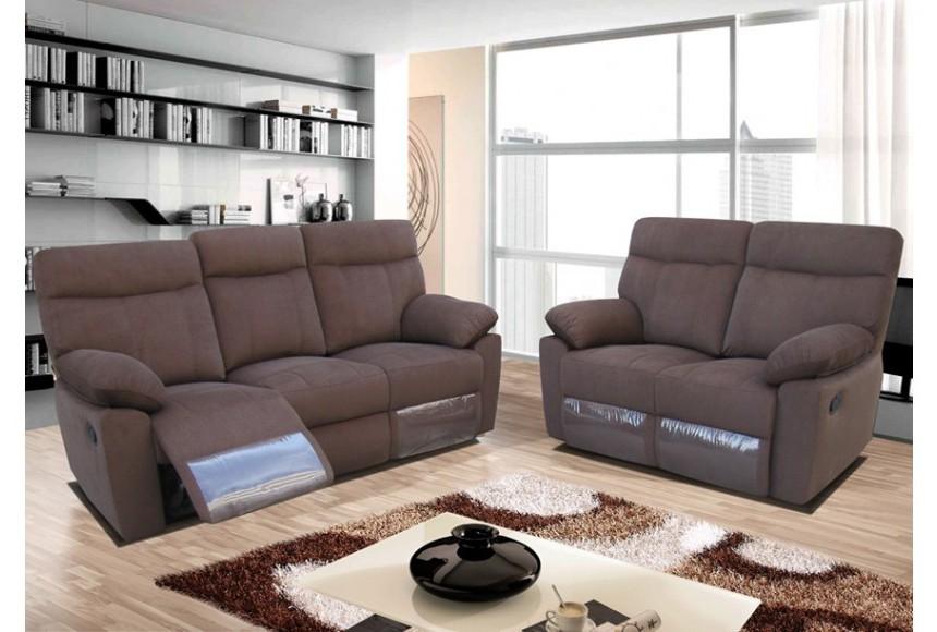 Canapé D'angle Relax Microfibre