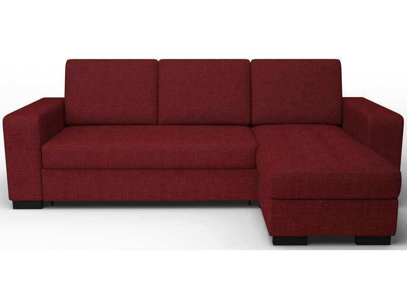 Canapé D'angle Rouge Conforama