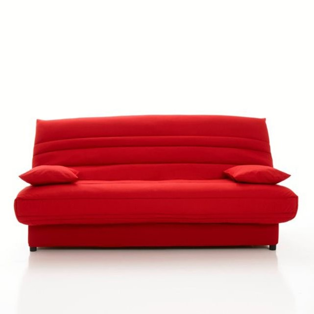 canape 2 places convertible bz matelas futon chocolat. Black Bedroom Furniture Sets. Home Design Ideas