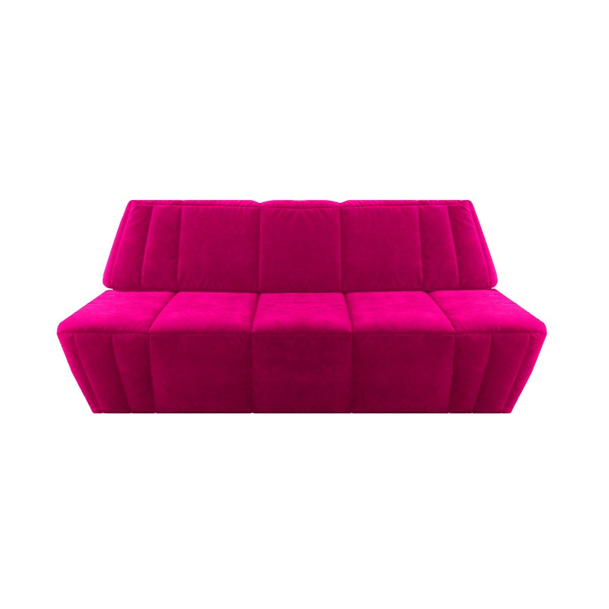 Canape Convertible Rose Fushia