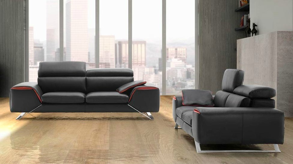 Canape Cuir Luxe Sofa