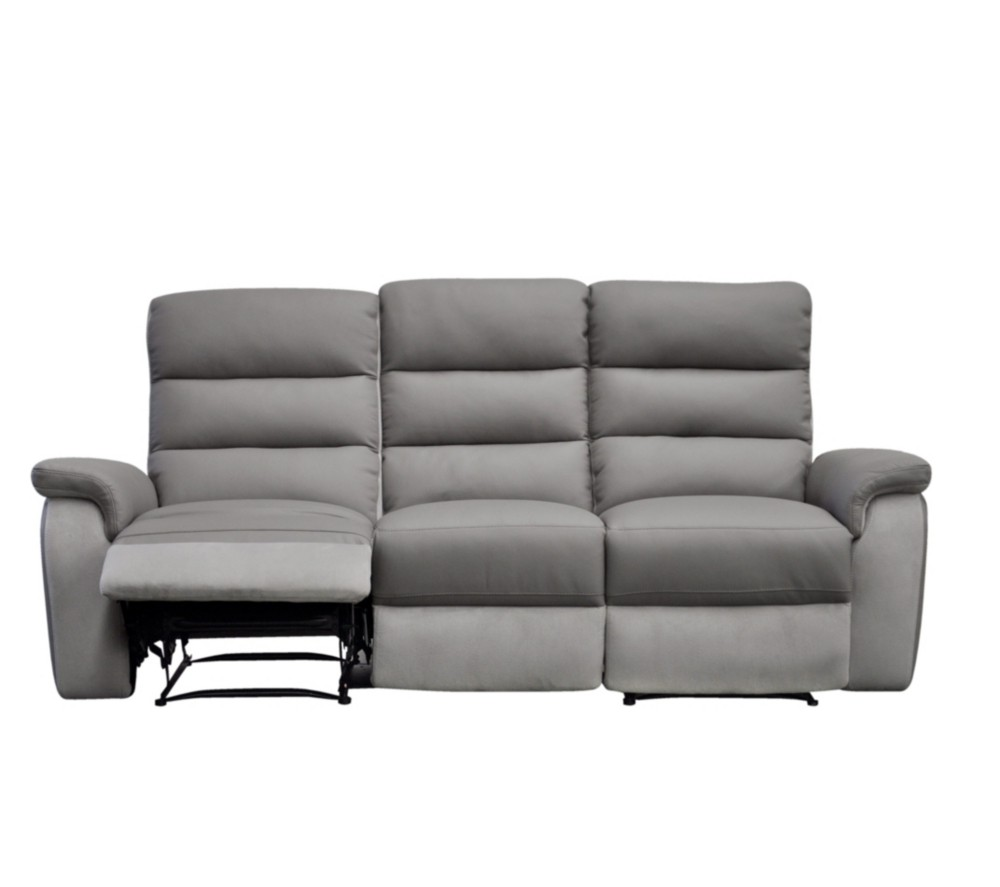 Canape cuir relax electrique 2 places but canap id es - Canape 2 places relax ...