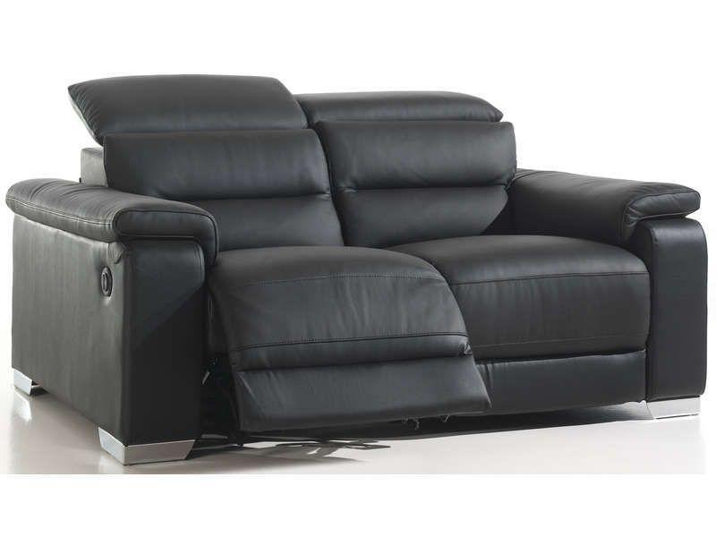 Canape Cuir Relax Electrique Conforama