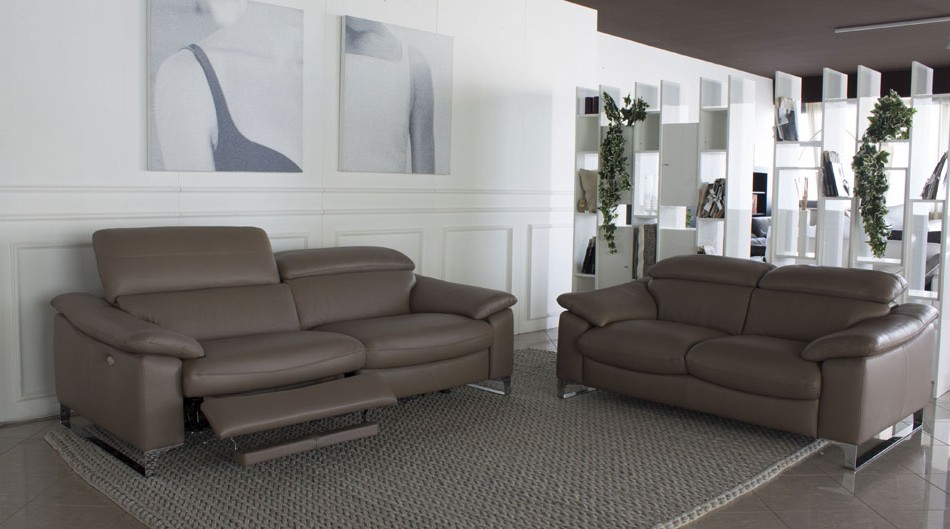Canape Cuir Relaxation Electrique Italien