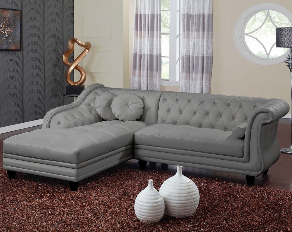 Canape Dangle Chesterfield Cuir