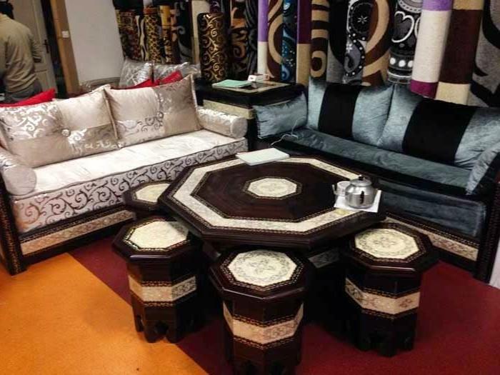 Dessus De Canape Marocain