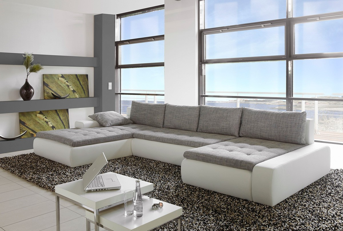 grand canap d 39 angle convertible tissu canap id es de d coration de maison v9lpayedo3. Black Bedroom Furniture Sets. Home Design Ideas