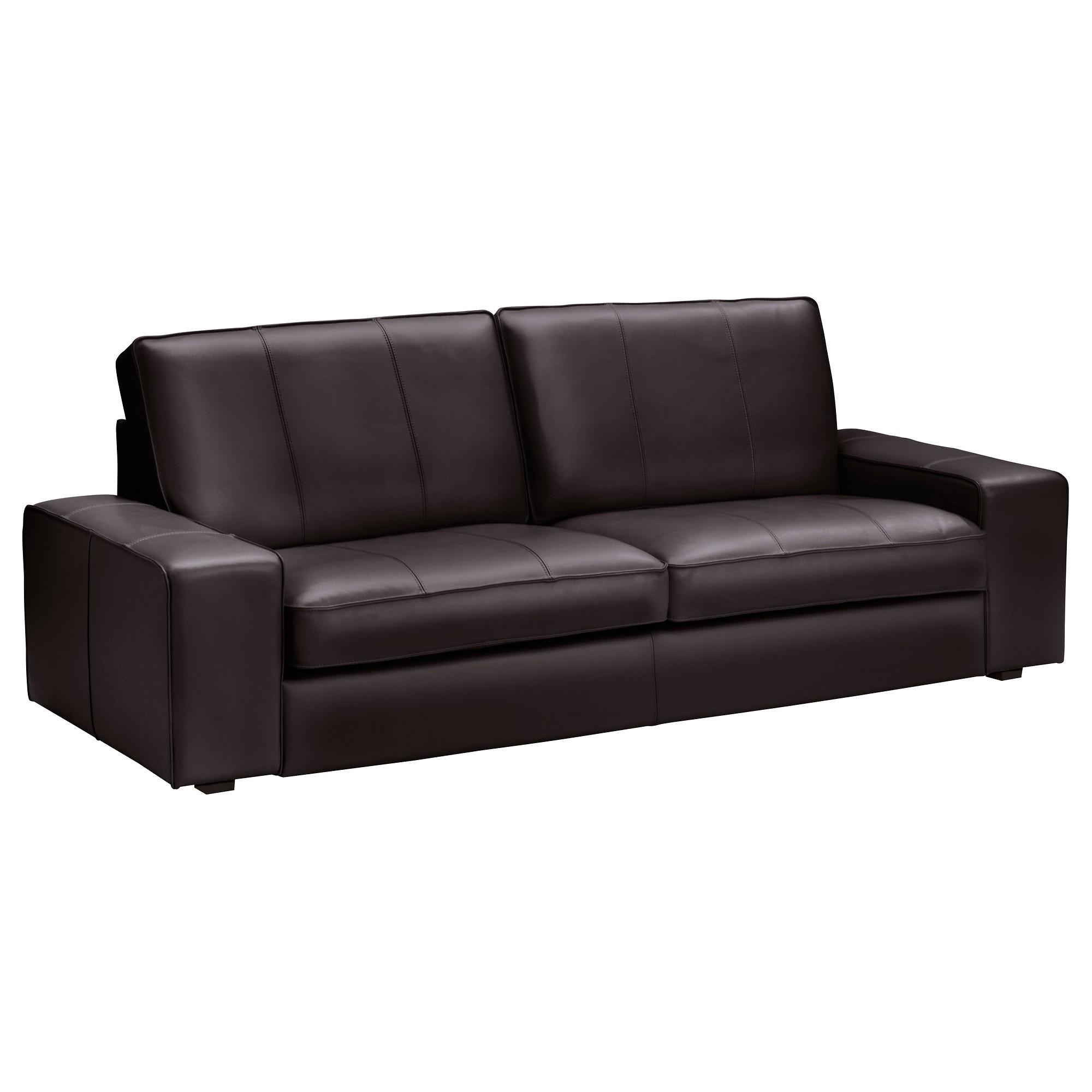 Ikea Canape Cuir Kivik